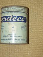 Boite Vide Lait Sec Erdeco + Doseur - Cajas