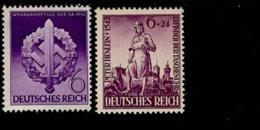 Deutsches Reich 818 - 819 Wehrkampftage  / Peter Henlein MNH Postfrisch ** Neuf - Nuevos