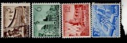 Deutsches Reich 739 - 742 Leipziger Messe MNH Postfrisch ** Neuf - Ungebraucht