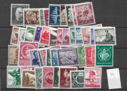 1944 MNH Reich, Complete Year, Postfris ** - Unused Stamps