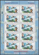 "2021 - Y/T PA 85A POSTE AERIENNE ""CLAIRE ROMAN - PIERRE CLOSTERMANN"" - FEUILLET 10 TIMBRES - NEUF ** - 1960-.... Neufs"