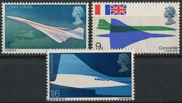 Great Britain 1963. Mi.#504/06 MNH/Luxe. Aviation. Airplanes. Concorde (Ts27) - Concorde