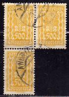 AUSTRIA ÖSTERREICH 1922 1924 SYMBOLS OF AGRICOLTURE 500K USED USATO OBLITERE' - Used Stamps