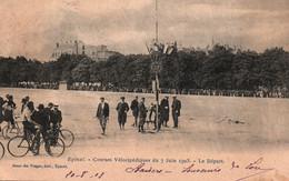 Cyclisme - Epinal - Courses Vélocipédiques Du 7 Juin 1903 - Le Départ - Edition Bazar Des Vosges, Carte Dos Simple - Cycling