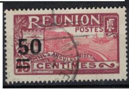 REUNION             N°  YVERT   123 (1)  OBLITERE     ( Ob 01/62 ) - Gebraucht