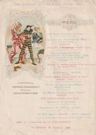1006 - MENU DU 8 OCTOBRE 1939 . GRAND RESTAURANT DE PATIS COURS BERTAGNA CHAMPAGNE THEOPHILE ROEDERER TRES JOLI DECORS - Menus
