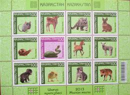 Kazakhstan   2013   Chinese New Year   Fauna   M/Sheet   MNH - Kazakhstan