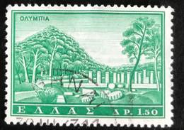 Hellas - Greece - A1/2 - (°)used - 1961 - Michel 754 - Toerisme - Usati