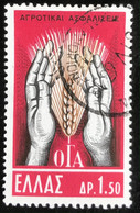 Hellas - Greece - A1/2 - (°)used - 1962 - Michel 798 - Verzekering Landarbeiders - Usati