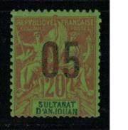 ANJOUAN     N° YVERT  :   23     NEUF SANS GOMME        ( SG     509  ) - Unused Stamps