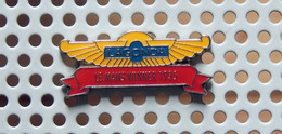Pin's Championnat Sport Automobile LAGONDA ASTON-MARTIN Vainqueur 24 Heures Du MANS 1935 - Unclassified