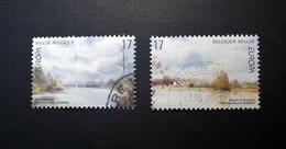 Belgie - Belgique -  1999 - OBP/COB - 2815/16 - De Bunt + Marais DHarchies - Gestempeld Dilbeek - Used Stamps
