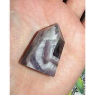 Améthyste Pierre Naturelle Chevron Obélisque 4 X 2,5 X 1,8 Cm - Minerali