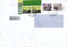 Auslands -Brief Von 8360 Eschlikon Mit 260 Rappen Schöner Mischfrankatur 2021 - Storia Postale