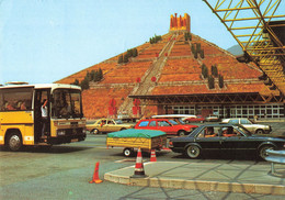 Espagne Els Limits Frontera Frontiere Monumento Pyramide Libertad Voiture Auto Remorque Autocar Car - Gerona