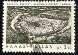 Hellas - Greece - A1/2 - (°)used - 1966 - Michel 915 - Griekse Theater Ad 534 V. Chr. - Usati