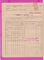 261688 / Bulgaria 1900 - 10 Stotinki  (1894)  , Revenue Fiscaux , Kiril D. Avramov - Svishtov Village Of Batak - Other