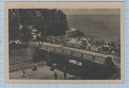 USSR / Vintage Photo Postcard / Soviet Union / UKRAINE. Odessa. Arcadia Beach. 1952 - Ukraine