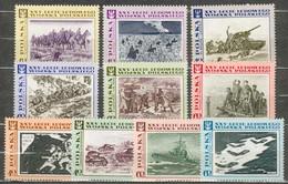 POLAND MNH ** 1722-1731 ANNIVERSAIRE ARMEE POPULAIRE BYLINA MACIAG BORATYNSKI GARWATOWSKI ODER NEISSE MACKIEWICZ - Unused Stamps