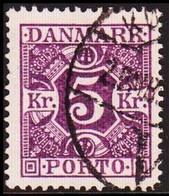 1930. Postage Due. Porto. 5 Kr. Violet  (Michel P19) - JF417918 - Postage Due