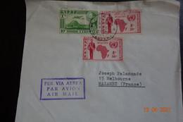 Lettre DE MASSAUA - Ethiopië