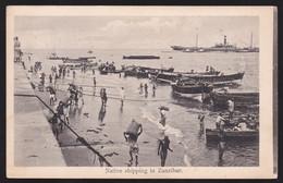CPA Native Shipping In Zanzibar - 1912 - Tanzania