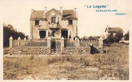 56 - N°75394 - CARNAC-PLAGE - La Logette - Carte Photo - Carnac