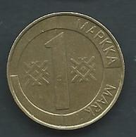 Piece  Année 1993 - Finlande - Finland - 1 MARKKA  Pic5207 - Finland