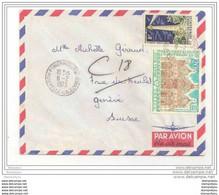 101 - 65 - Lettre Avion Envoyée De Nlle Calédonie En Suisse 1973 - 1 Timbre Avec Phare - Fari