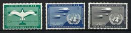 Nations Unies:  TP De Poste Aérienne, Neufs** - Nuovi
