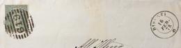 ABRUZZO - BISENTI 16 FEB 78  D.c. +BARRE Su 1 C. + TIMBRO COMUNE DI BACUCCO   - PIEGO PER TERAMO - Marcophilia