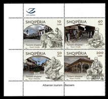 "ALBANIA 2020 ""ALBANIAN TOURISM - BAZAARS"" - Set MNH - Albania"