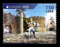 """ALBANIA 2020 """" Europe 2020 - Ancient Postal Routes """" MNH - Albania"""