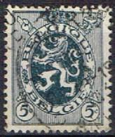 B 33 - BELGIQUE N° 279 Obl. Lion Héraldique - 1929-1937 Heraldischer Löwe