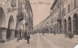 CUNEO - VIA ROMA - PALAZZO MUNICIPALE.........R8 - Cuneo
