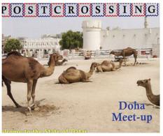 (NN 14) POSTCROSSING - Sultanate Of Qatar - Doha Meet-up (Camel Market) - Qatar