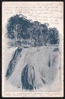 CPA Brazil / Brésil - Therezopolis - A Cascata Do Imbuhy - 1903 /04 - Rio De Janeiro