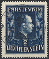 Liechtenstein 1951. Mi.Nr. 304 B, Perf. 14 3/4, Used O - Gebraucht