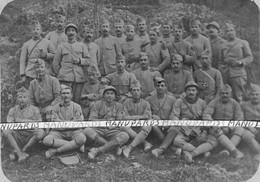 1916 - 1918 / CARTE PHOTO / 98e RI ( ROANNE ) / SECTION / 98e REGIMENT D'INFANTERIE / FM / POILUS / 1914 - 1918 - Guerra, Militares