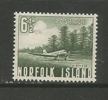Norfolk Island  - 1953 Airfield 6.5d MNH **   SG 14  Sc 14 - Norfolk Island
