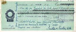 Portugal , 1967 , Letra , Bill Of Exchange , Used , Tax  $50 , Embossed Seal , Banco Nacional Ultramarino , Vespa Sale - Letras De Cambio