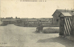ESTREES St DENIS  L'H. O.E. Recto Verso - Estrees Saint Denis
