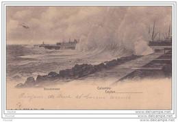 Ceylan - Colombo - Breakwater  - (oblitération De 1902) - Sri Lanka (Ceylon)
