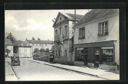 CPA Arc-les-Gray, Rue De Dijon, La Mairie - Gray