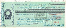 Portugal , 1969 , Letra , Bill Of Exchange , Used , Tax 1$00 , Embossed Seal , Banco Português Do Atlântico , Vespa Sale - Letras De Cambio