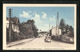 CPA Arc-les Gray, Croisèe Des Routes Et Rue Bec - Gray