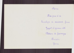 Menu Déjeuner Du 7 Août 1980 - Menus