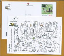 Postal Stationery Of The 20 Years Of The Club De Golf Dos Arquitectos. Golf. Briefpapier Der 20 Jahre Des Club De Golf - Golf