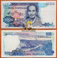 Indonesia 1000 Rupiah 1980 XF/aUNC Replacement P-119 - Indonesia