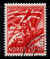 Norvège 1941 Mi. 236 Oblitéré 100% 20 O, Norske - Usados